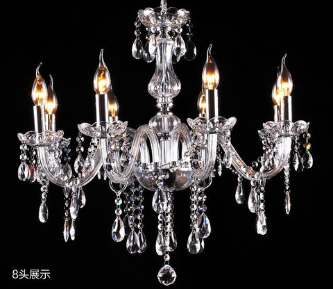 lustre moderno lustres de cristal 4 6 8 10 12 15 18 bracos opcionais lustres