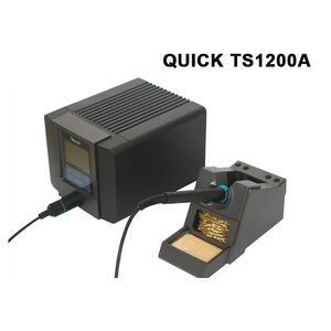 Image 4 - الأصلي سريعة TS1200A خالية من الرصاص لحام محطة اتصال ذكي 120 W 110 V 220 V SMD آلة لحام