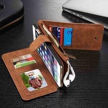 Пояса из натуральной кожи телефон, кошелек, сумка чехол для Apple IPhone 5 5S SE 7 6 6 S плюс Samsung Galaxy S6 S7 S8 Edge Plus Телефонные чехлы