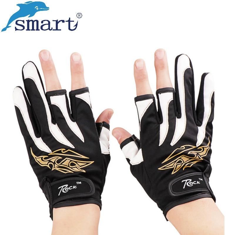 Inteligentní rybářské rukavice Poloviční prsty Prodyšné - Rybaření