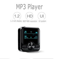 1.2inch Mp3 Voice Recorder 8g/16g/32g Portable Sports Music Player Voice Recorder audio FM Radio Support e book