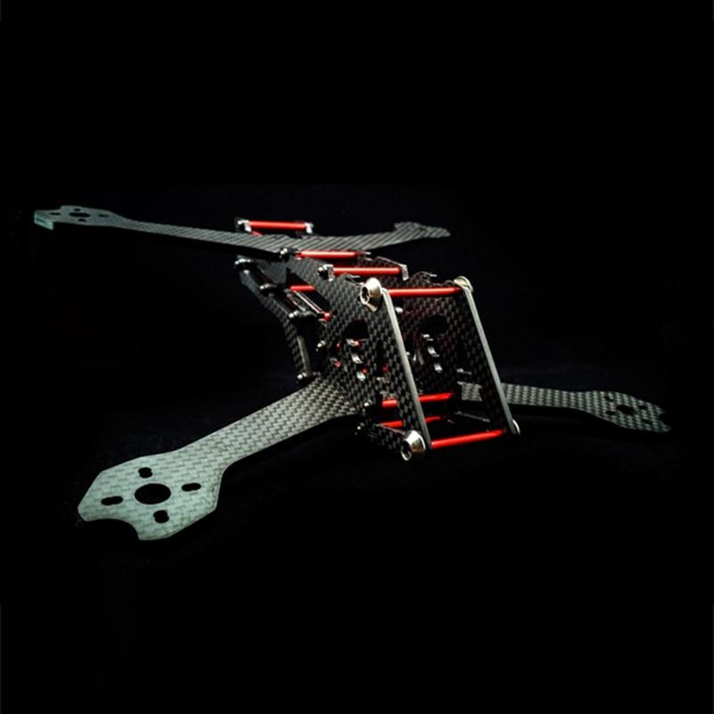 NIONO TREX8.6 220mm LITE 4mm Arm Frame Kit w/ 5.8G 200mW/600mW FPV VTX for RC Drone FPV Racing Quadcopter Multirotor Helicopter frog lite fission version frame base rack chassis for rc fpv racing drone quadcopter