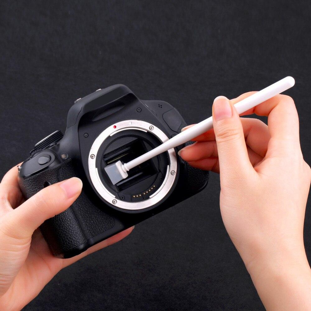 1 Set Cmos Sensor óptico Polvo Limpieza Gelatina Cámara Limpiador Kit Para Canon Para Nikon Para Sony Promoción