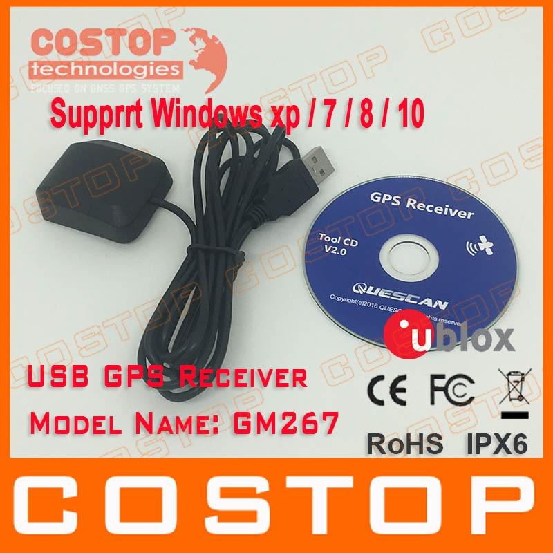 מוצר - Free Shipping PC Navigation USB drive GPS Receiver ...