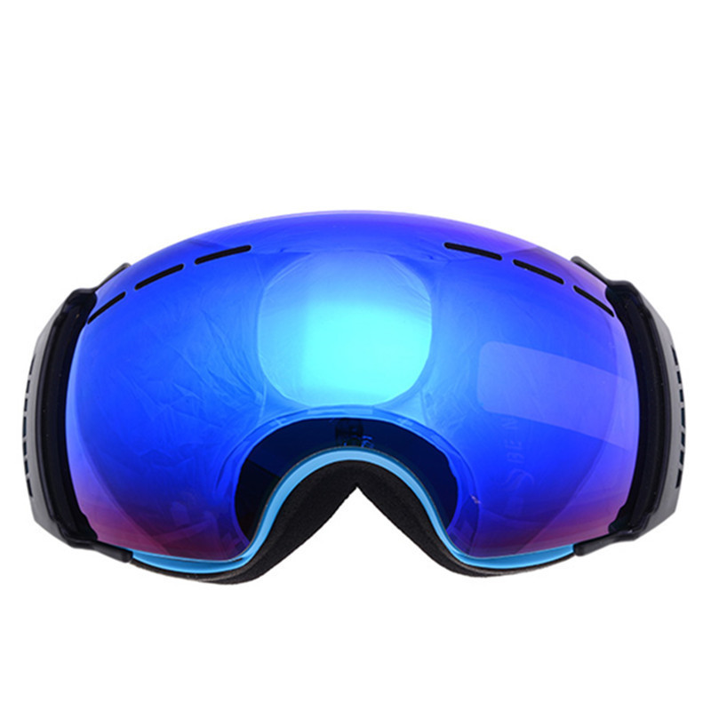 Double Anti-fog Ski Snowboard Goggles Winter Sport Snow Photochromic UV400 Big Spherical Cycling Glasses Gafas Esqui Ski Eyewear