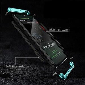 Image 4 - Pancerz aluminiowa metalowa obudowa do Huawei P40 Pro P30 obudowa z twardego plastiku hybrydowa, odporna na wstrząsy obudowa do telefonu Huawei P30 Pro
