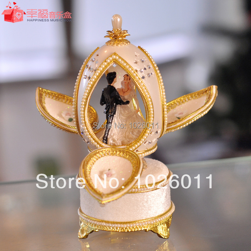 carving wedding gift wedding music box free shipping-in Music Boxes ...