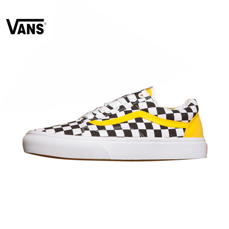 e9176e51a1a Vans Old Skool Classic Checkerboard Lattices Skateboarding Shoes for Women  VN0A856931U 35-39