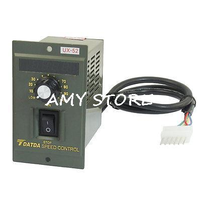 AC 220V 200W Corotation Reverse Option Router Variable Motor Speed Controller UX-52
