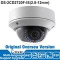Hikvision câmera ip 2mp ds-2cd2720f-is 2.8-12mm câmera ip 1080 p poe vari-focal ir dome segurança câmera ao ar livre