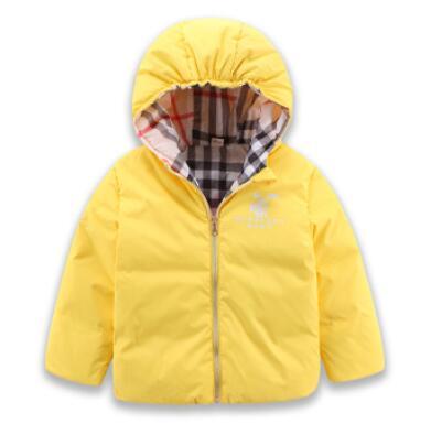 2016 autumn and winter new children s down jacket wholesale font b boy b font girl