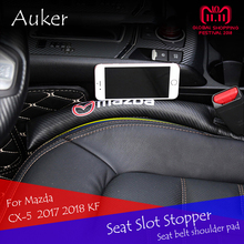 Per Mazda CX-5 CX5 2013-2018 KF Seggiolino Auto Cuscino Slot Fessura Gap Fermacorda e ganci A Prova di Perdite Copertura Della Protezione Pad car Styling