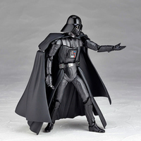 1PC 16cm Black Knight 001 Action Figure Gift Toys For Kids Star Wars Model Gadgets Christmas