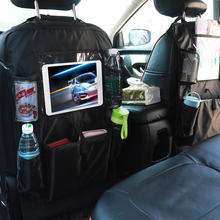 New Car seat storage bag multi-function car box ipad transparent back organizer 64 *47 cm