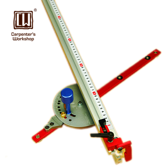 Woodworking Precise Miter Gauge With Fence And Stop Collar