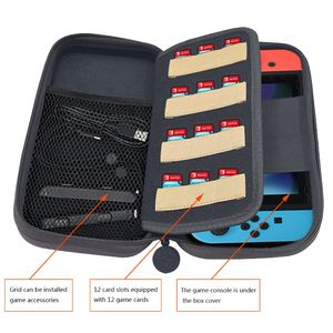 Image 2 - 2019 NEW Nintend Switch Carry Case Accessories Storage Bag for Nintendos Switch Portable Travel Case for Nitendo Switch Console