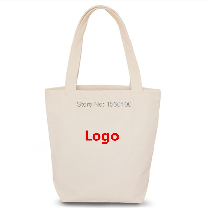 Customized Cotton Bag with handle Reusable Canvas Bags for  Grocery, Shopping, Promotion Gift