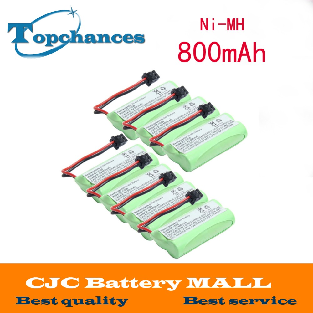 7X Home Cordless phone Battery for Uniden BT-1008 BT1008 BT-1008 BT-1016 BT1016