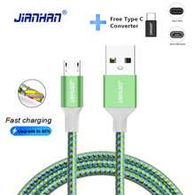2 in 1 Micro USB Cable 5V2A Fast Charging USB Data Type C for Huawei Samsung Galaxy S7 Xiaomi Redmi4 HTC OPPO LG Andorid Phone цена в Москве и Питере