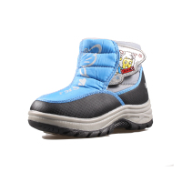 2015 Winter New Children S Snow Boots Boys And Girls Thick Padded Cotton Boots Slip Baby