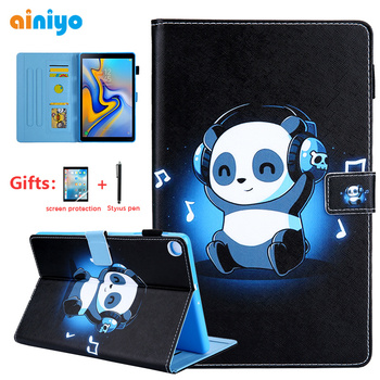 Cartoon Case for Samsung Galaxy Tab A 2019 SM-T510 SM-T515 T510 T515 Tablet Cover Stand Case for Tab A 10.1'' 2019 Tablet +gifts case for samsung galaxy tab a 10 1 2019 sm t510 sm t515 wi fi lte flip tablet cover pu leather smart magnetic stand shell coque