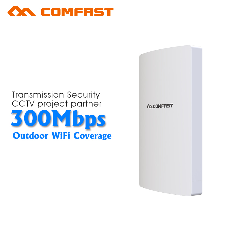Comfast CF-E316NV3 300M Long Range Wireless outdoor wifi CPE AP QCA9531 13dBi Wi fi Antenna Network Bridge Router For school