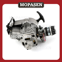 2 Stroke Engine Motor with Gear Box for 47CC 49CC 50CC Mini Pocket Bike Gas ATV Quad Bicycle Dirt Pit Bikes Motorcycle Parts