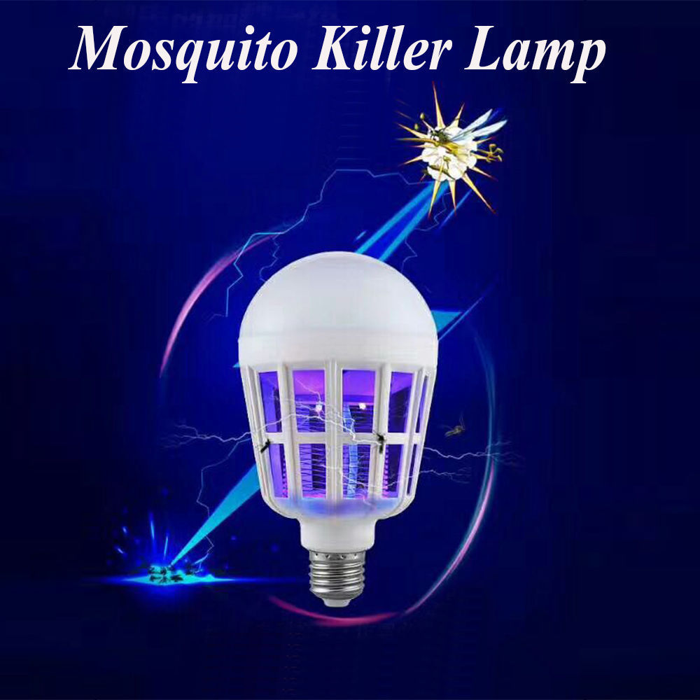 bug zapper mosquito assassino inseto armadilha lâmpada dc12v