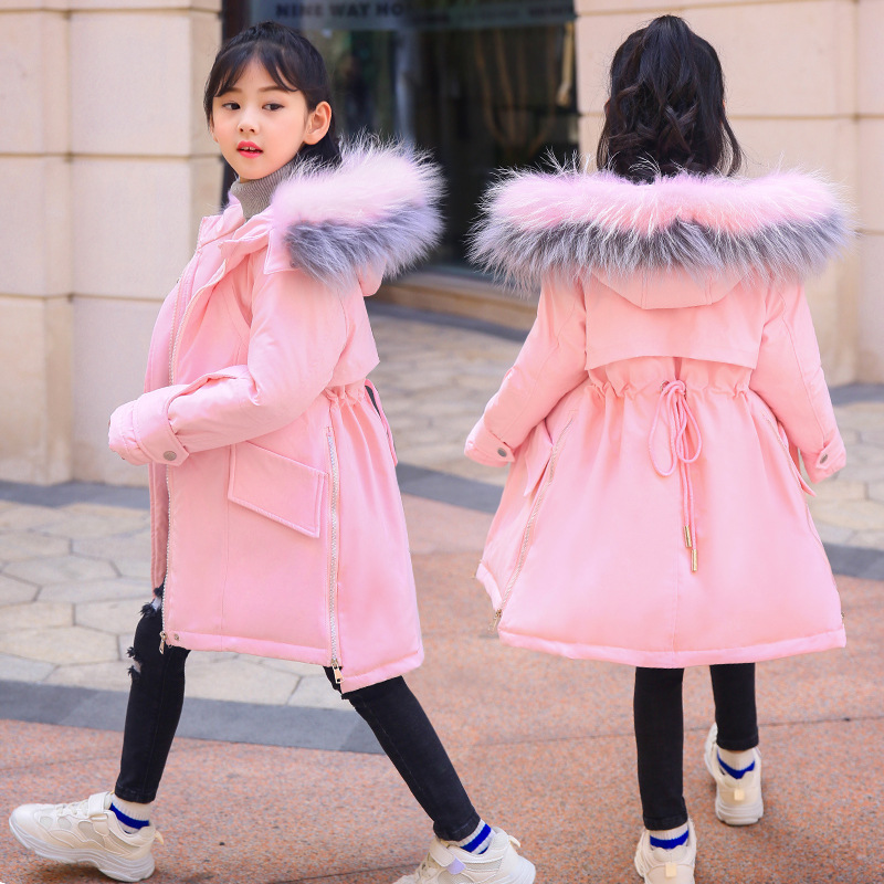 цена на down jacket is natural in the girls' long tong 2018 new girl cuhk clearance brand quality goods that turn over season