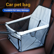 Manufacturer breathable pet car cushion mesh hanging bag double thickened waterproof