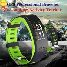 Professional GPS Sport Bracelet Color Display Smart Band Heart Rate Monitor climb Wristband Barometer Fitness Activity Tracker цена