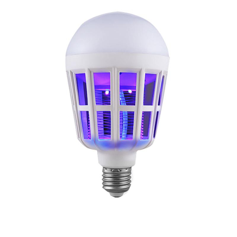 New LED Anti-Mosquito Bulb 15W 1000LM 6500K Electronic Insect Fly Lure Kill Bulb Repellent Fly Bug Zapper Insect Killer Hot Sale
