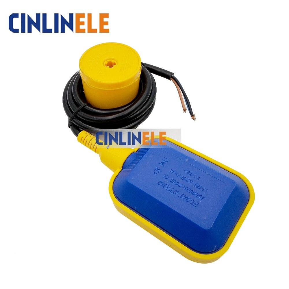 цена на 4M Stainless Steel Tank Liquid Water Level Sensor Horizontal Float Switch Liquid Fluid Water Level Controller Sensor