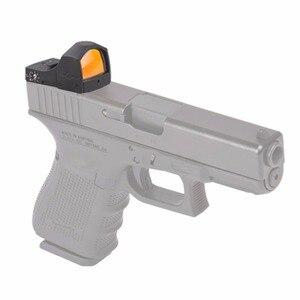 Image 3 - Векторная Оптика Микро рефлекторный охотничий красный точечный прицел с 3 МОА точечный мини пистолет прицел подходит 21 мм Вивер или 11 мм ласточкин хвост