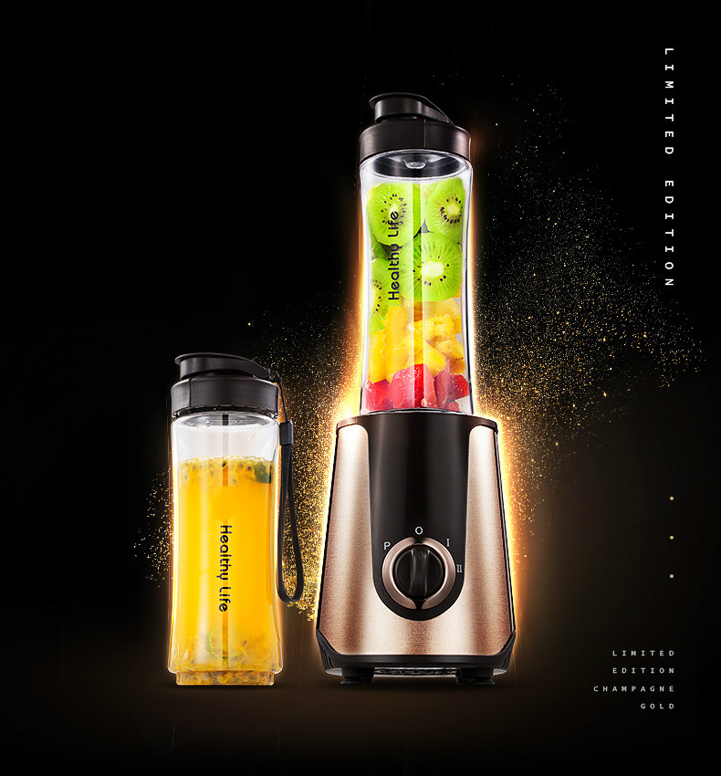 Juicers Portable small juicer for use in a full-automatic fruit and vegetable multi-function mini juicer.NEWJuicers Portable small juicer for use in a full-automatic fruit and vegetable multi-function mini juicer.NEW