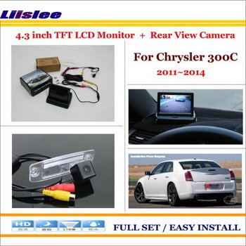 """Liislee For Chrysler 300C 2011~2014 Auto Rear View Camera Back Up + 4.3"""" LCD Monitor = 2 in 1 Parking Assistance System"""