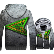 warm wool liner brand clothes high quality 3D printed hooded fashion sportswear jackets men casual coats sweatshirts 2019 winter цена 2017