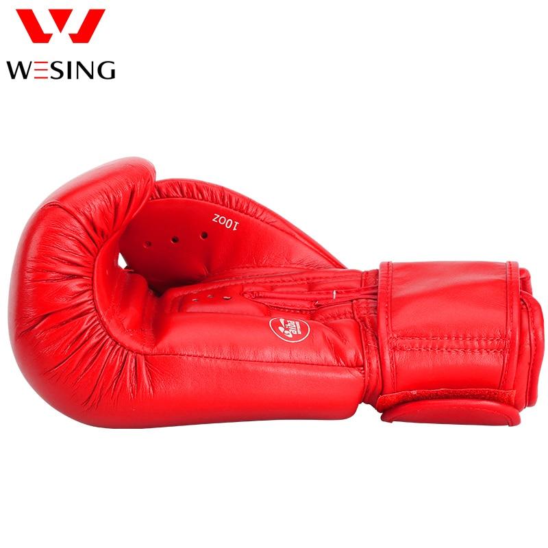 AIBA aprobó guantes de boxeo 10 oz 12 oz hihg quanlity micro guantes - Ropa deportiva y accesorios - foto 5