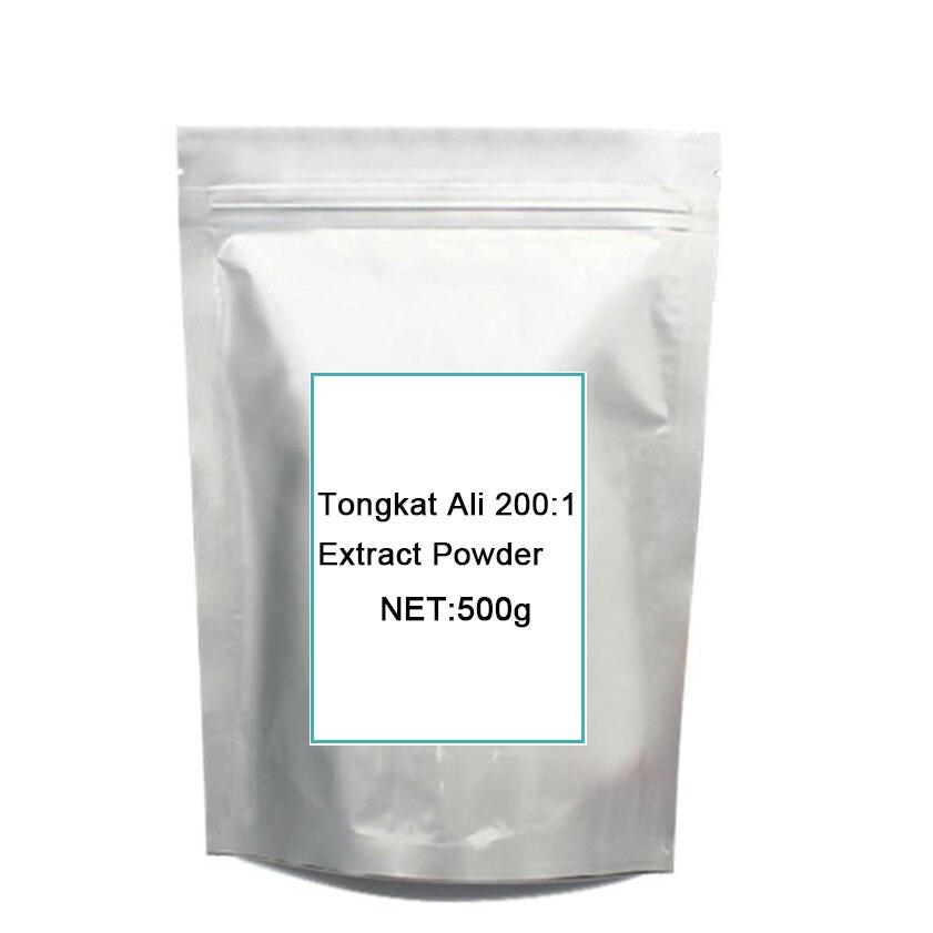 Top quality 500G food grade Tongkat Ali Extract Pow-der /Pasak bumi/Longjack high quality stevia extract pow der natural sweetner 500g free shipping