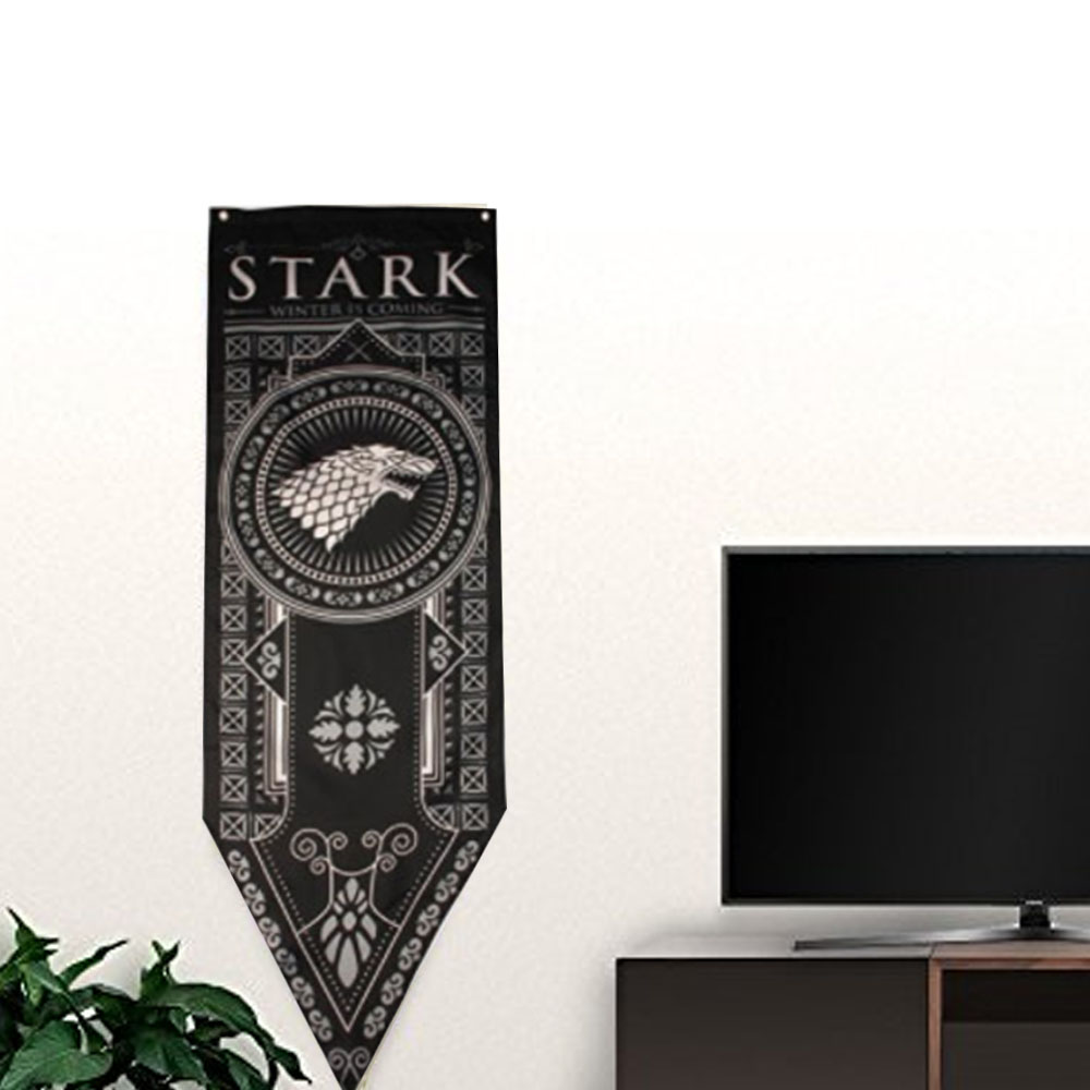 Buy now Home decor Game of Thrones Tournament Banners Set of 4 House Stark, Targaryen, Lannister