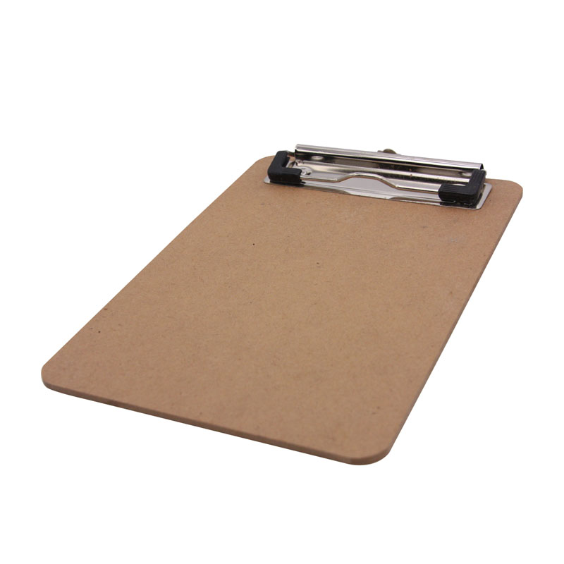 joudoo vintage wood b6 masonite writing board clipboard office and