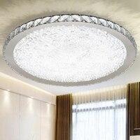 Modern ceiling LED ceiling lamp bedroom crystal lamp room crystal light