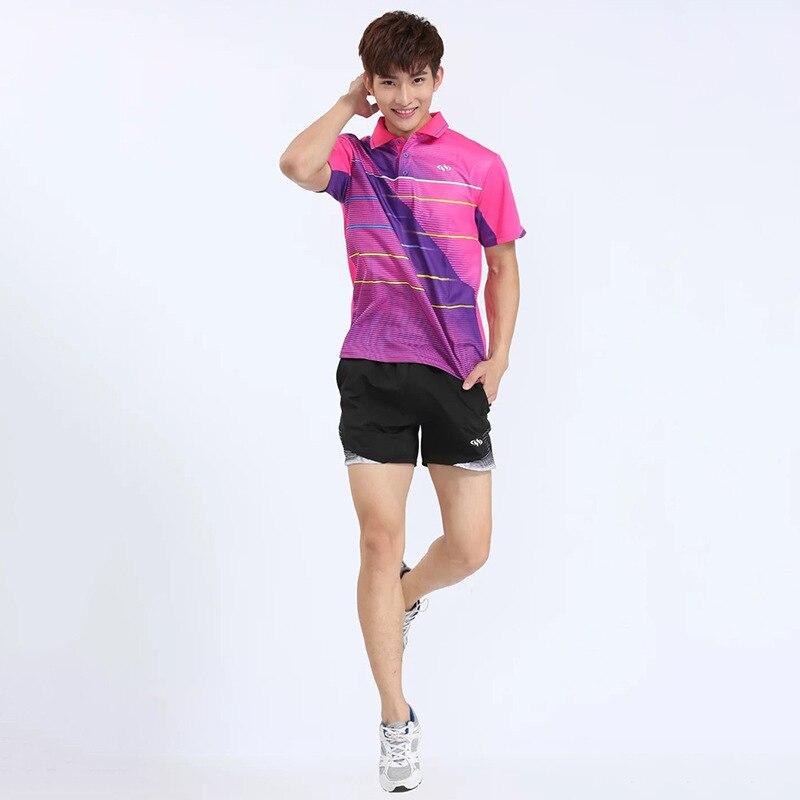 Badminton T shirts Men ,Quick Dry Sports Tennis wear dry-cool T-shirt ,Athletic Shirt Table Tennis Men Shirts Tops Tee Jersey