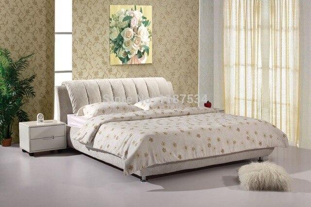 Precio más barato Muebles de dormitorio de lujo marco de la cama ...
