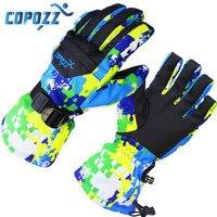 COPOZZ Men S Ski Gloves Snowboard Gloves Snowmobile Motorcycle Winter Skiing Riding Waterproof Snow Gloves