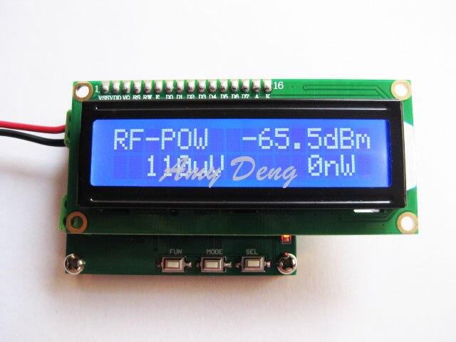 Free Shipping RF Power Meter 0 1 2 4GHz