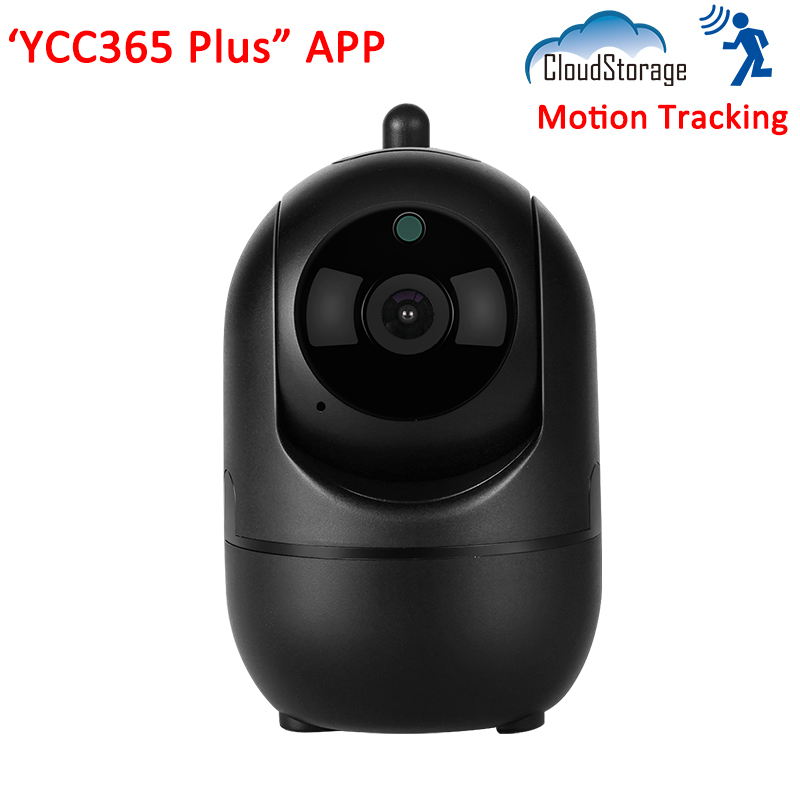YCC365 Plus Cloud Storage Intelligence Auto Tracking Smart Infrared Wireless WiFi Home Security Surveillance CCTV IP Camera in Surveillance Cameras from Security Protection