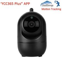 лучшая цена YCC365 Plus Cloud Storage Intelligence Auto Tracking Smart Infrared Wireless WiFi Home Security Surveillance CCTV IP Camera