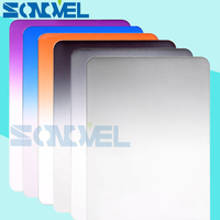 100mm 150mm Graduated ND2 ND4 ND8 Neutral Density 100 150mm Graduated Purple Blue Orange Square Filter