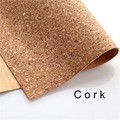 cork fabric Natural cork leather natural Material Kork 60*90cm/23*35inch Cor-38